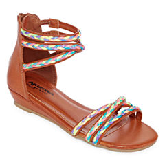 Arizona Perk Girls Flat Sandals - Little Kids/Big Kids