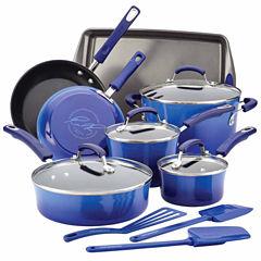 Rachael Ray 14-pc. Aluminum Cookware Set