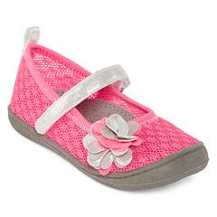 Okie Dokie® Bryn Girls Mesh Sandals - Toddler