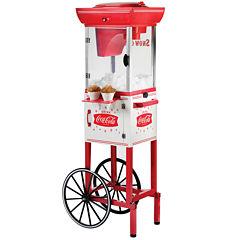 Nostalgia SCC399COKE 4-Foot Tall Coca-Cola Snow Cone Cart