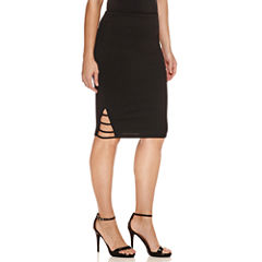 Bisou Bisou Side Band Skirt