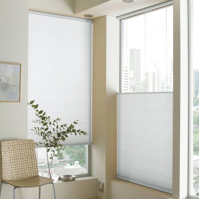 jcpenney home custom cordless cellular shade free - Top Down Bottom Up Blinds