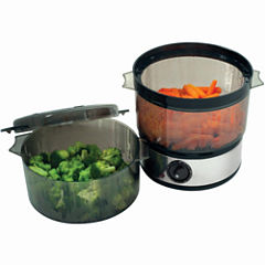 Chef Buddy™ 4-qt. Stainless Steel Food Steamer