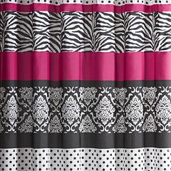 Mi Zone Gemma Microfiber Shower Curtain