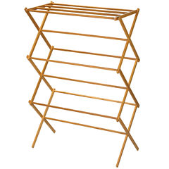 Household Essentials® Bamboo Clothes Dryer