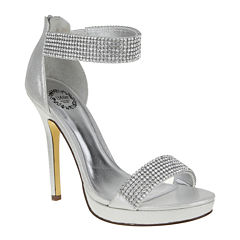 I. Miller Fancy Ankle-Strap High Heel Sandals