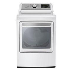 LG ENERGY STAR® 7.3 cu.ft. Super Capacity Gas Dryer
