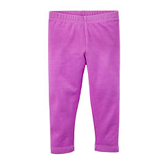Carter's® Purple Capris - Toddler Girls 2t-5t