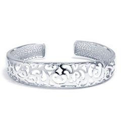 Sparkle Allure Womens Cuff Bracelet