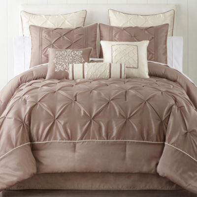 home expressions genevieve 7pc comforter set