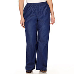 Alfred Dunner Pleated Pants-Plus (30