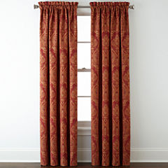 Royal Velvet® Manchester Rod-Pocket Curtain Panel