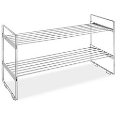 Whitmor 2-Tier Stackable Closet Shelves