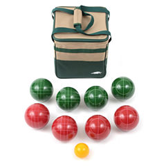 Lion Sports Bocce Ball Set 100Mm Ball with Tape Measure And Carry Bag
