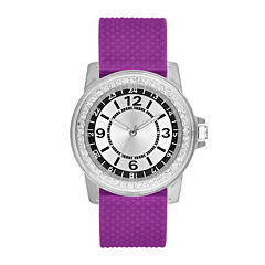 Womens Purple Strap Watch