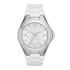 Womens White Strap Watch