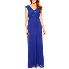 Sleeveless Evening Gown