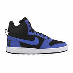 Nike Court Borough Mid Mens Basketball Shoes