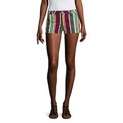 Arizona Stripe Shorts-Juniors
