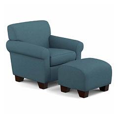Wendy Chair and Ottoman II