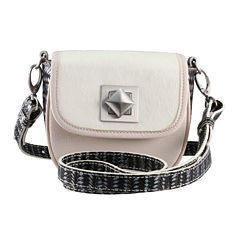 Adrienne Landau Ibiza Leather Convertible Crossbody Bag