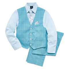 Steve Harvey Boys Woven Pant Suit-8-20