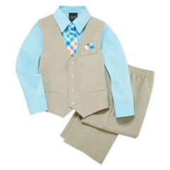 TFW Boys Woven Pant Suit-4-10