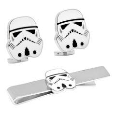 Star Wars™ Storm Trooper™ Tie Bar & Cuff Links Gift Set
