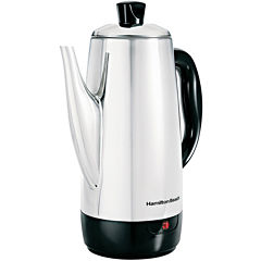 Hamilton Beach® 12-Cup Stainless Steel Percolator
