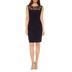 Blu Sage Sleeveless Lace Party Dress