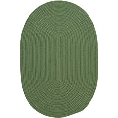 Colonial Mills® Nantucket Reversible Braided Indoor/Outdoor Oval Rug
