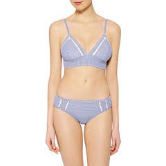 Arizona Stripe Triangle Swimsuit Top or Hipster Bottom-Juniors