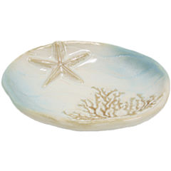 Bacova Coastal Moonlight Soap Dish