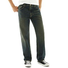 Arizona Basic Loose Straight Jeans