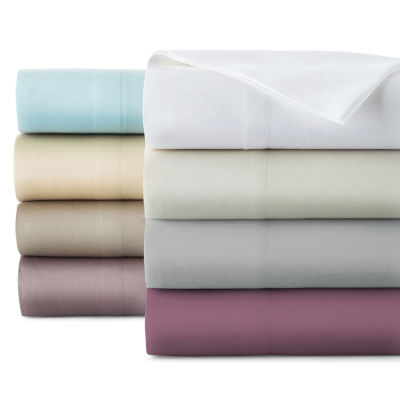 liz claiborne 300tc liquid pima cotton sheet set - Cal King Sheets