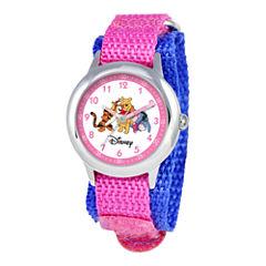 Disney Winnie the Pooh Kids Nylon Strap Easy-Read Watch