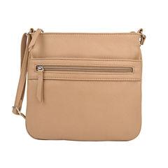 City Streets Front Zip Pocket Crossbody Bag