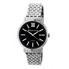 Heritor Bristol Mens Silver Tone Bracelet Watch-Herhr5302