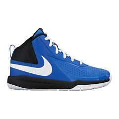 Nike® Team Hustle D 7 Boys Basketball Shoes - Big Kids