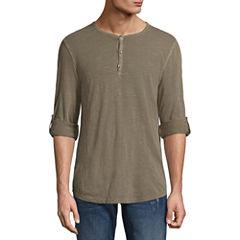 Decree Long Sleeve Henley Shirt