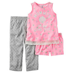 Carter's 3-pc. Diaper Cover Set - Toddler Girls