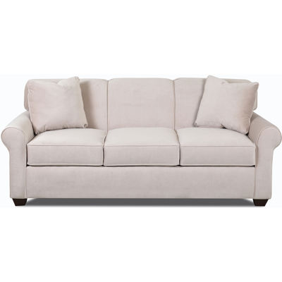 sleeper roll arm sofa