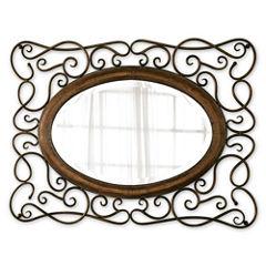 Bayonne Beveled Oval Wall Mirror