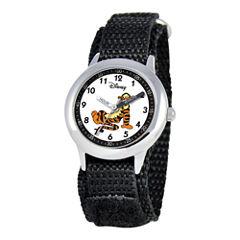 Disney Kids Time Teacher Tigger Fast Strap Watch