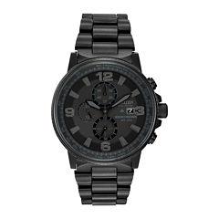 Citizen® Eco-Drive® Mens Black Watch CA0295-58E
