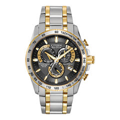 Citizen® Eco-Drive® Mens Perpetual Calendar Watch AT4004-52E