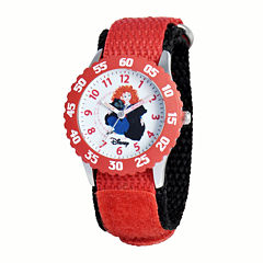 Disney Kids Merida Easy-Read Red Fast Strap Watch