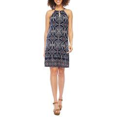 Luxology Sleeveless Trapeze Dress