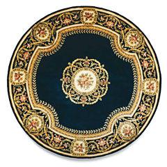 Momeni® Atlantis Hand-Carved Wool Round Rug