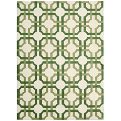 Waverly® Groovy Grille Carved Rectangular Rug